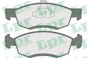LPR 05P1654 Тормозные колодки, к-т дисковые