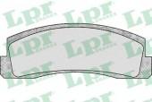 LPR 05P179 Тормозные колодки, к-т дисковые