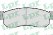LPR 05P185 Тормозные колодки, к-т дисковые