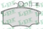 LPR 05P187 Тормозные колодки, к-т дисковые
