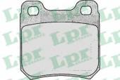 LPR 05P206 Тормозные колодки, к-т дисковые