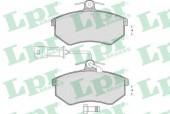 LPR 05P221 Тормозные колодки, к-т дисковые