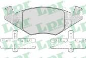 LPR 05P223 Тормозные колодки, к-т дисковые