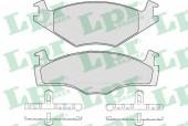 LPR 05P224 Тормозные колодки, к-т дисковые