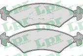 LPR 05P232 Тормозные колодки, к-т дисковые