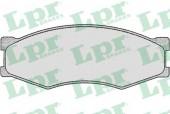 LPR 05P264 Тормозные колодки, к-т дисковые