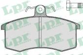Lpr 05P288 Тормозные колодки, к-т дисковые