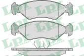 LPR 05P295 Тормозные колодки, к-т дисковые