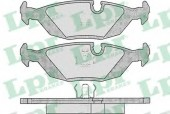 LPR 05P306 Тормозные колодки, к-т дисковые