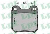 LPR 05P334 Тормозные колодки, к-т дисковые