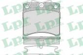 LPR 05P437 Тормозные колодки, к-т дисковые
