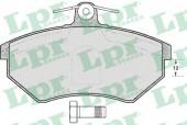 LPR 05P600 Тормозные колодки, к-т дисковые