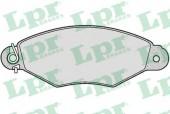 LPR 05P661 Тормозные колодки, к-т дисковые