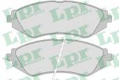 LPR 05P682 Тормозные колодки, к-т дисковые