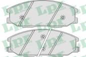 LPR 05P858 Тормозные колодки, к-т дисковые