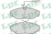 LPR 05P965 Тормозные колодки, к-т дисковые