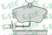 LPR 05P977 Тормозные колодки, к-т дисковые