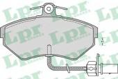 LPR 05P979 Тормозные колодки, к-т дисковые