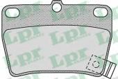 LPR 05P997 Тормозные колодки, к-т дисковые