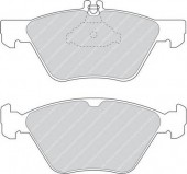 Ferodo FDB1050 Тормозные колодки, к-т дисковые