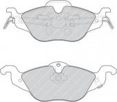Ferodo FDB1293 Тормозные колодки, к-т дисковые