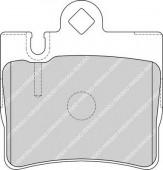 Ferodo FDB1427 Тормозные колодки, к-т дисковые