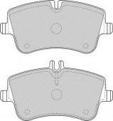 Ferodo FDB1429 Тормозные колодки, к-т дисковые