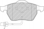 Ferodo FDB1496 Тормозные колодки, к-т дисковые