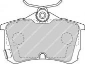 Ferodo FDB1506 Тормозные колодки, к-т дисковые