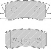 Ferodo FDB1604 Тормозные колодки, к-т дисковые