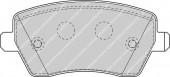 Ferodo FDB1617 Тормозные колодки, к-т дисковые
