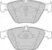 FERODO FDB1628 Тормозные колодки, к-т дисковые