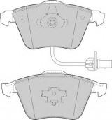 Ferodo FDB1629 Тормозные колодки, к-т дисковые