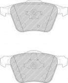 Ferodo FDB1631 Тормозные колодки, к-т дисковые