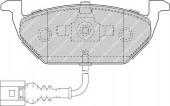 Ferodo FDB1635 Тормозные колодки, к-т дисковые