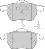 Ferodo FDB1717 Тормозные колодки, к-т дисковые