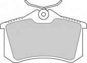 Ferodo FDB1788 Тормозные колодки, к-т дисковые