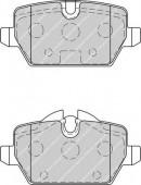 Ferodo FDB1806 Тормозные колодки, к-т дисковые