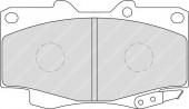 Ferodo FDB1852 Тормозные колодки, к-т дисковые