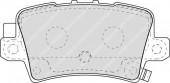 Ferodo FDB1862 Тормозные колодки, к-т дисковые