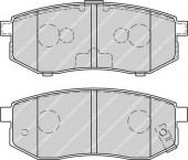 Ferodo FDB1970 Тормозные колодки, к-т дисковые