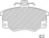 Ferodo FDB370 Тормозные колодки, к-т дисковые