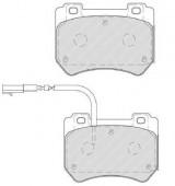 Ferodo FDB4206 Тормозные колодки, к-т дисковые