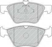 Ferodo FDB4289 Тормозные колодки, к-т дисковые