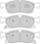 FERODO FDB4403 Тормозные колодки, к-т дисковые