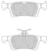 Ferodo FDB4695 Тормозные колодки, к-т дисковые