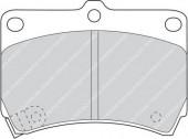 Ferodo FDB715 Тормозные колодки, к-т дисковые