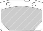 Ferodo FDB96 Тормозные колодки, к-т дисковые