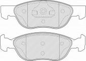 Ferodo FSL1651 Тормозные колодки, к-т дисковые