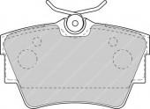 Ferodo FVR1516 Тормозные колодки, к-т дисковые